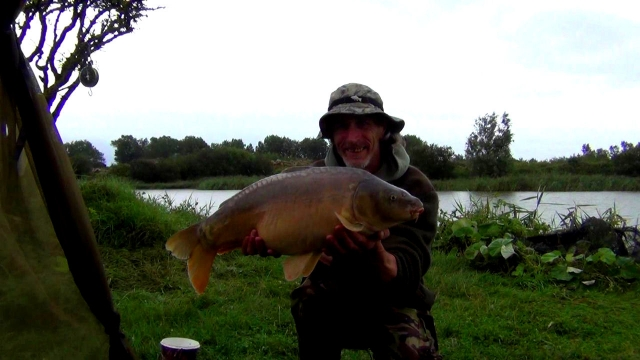 Yet another flavour of mirror carp from this prolific fishery